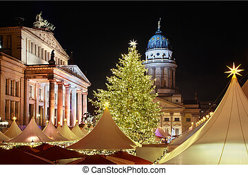 Christmas market in Berlin - Christmas market in...