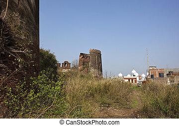 ruins in rural Punjab