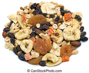 Trail Mix Dried Fruit - Trail mix a mix of dried fruit, nuts...