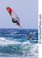 Windsurfing on Gran Canaria