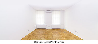 Empty White Room