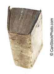 Old worn vintage book