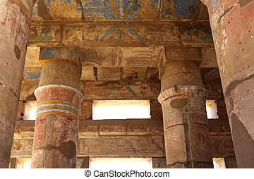 Festival Hall Karnak Temple Egypt