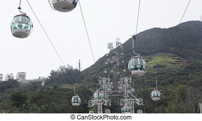 cableway timelapse