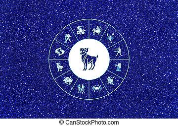 zodiaque, signe, bélier