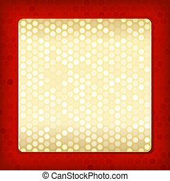 Template for card or invitation. Editable vector background