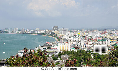 Pattaya - view of Pattaya