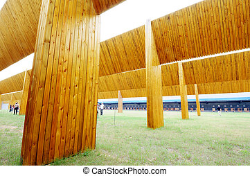 Outdoor shooting range - outdoor shooting range for rifles...