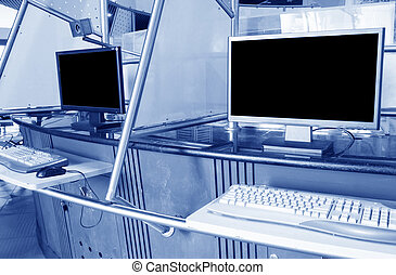 Computer room - pc - Modern computer room