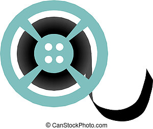 Film reel Clip Art and Stock Illustrations. 12,670 Film reel EPS ...