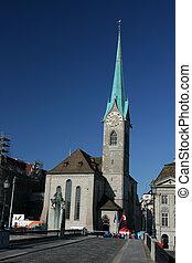 Fraumunster in Zurich