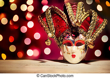 Carnaval mask - Photo of carnaval mask on bright background