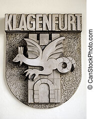 Coat of arms - Coat of arms, city of Klagenfurt, Austria