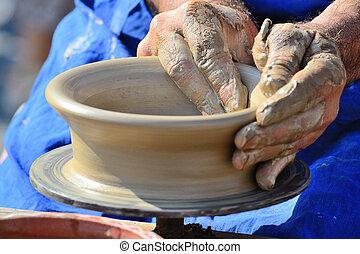Potter's, Hands