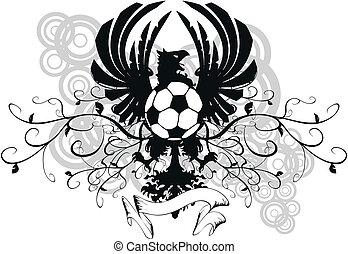 heraldic soccer coat of arms crest9 - heraldic soccer coat...