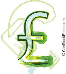Green Sterling symbol