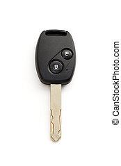 Isolated car door and ignition key with path - Car door and...