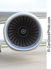Jet Airplane Engine