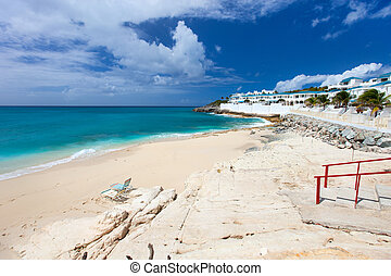 Cupecoy beach on St Martin Caribbean - Beautiful Cupecoy...