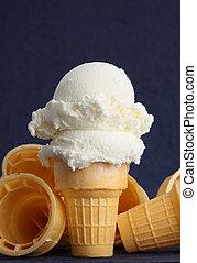 wafer cones - empty wafer ice cream cone