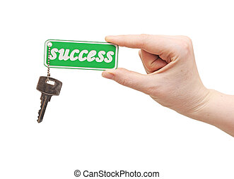 Handing over keys to success