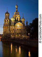 Iconic church in St Petersburg