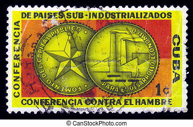 medal dedicated to sub-industrialized countries conference...