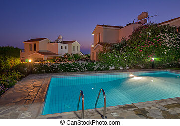 Holiday villas with pool