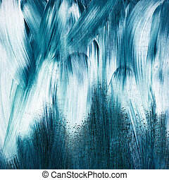 Abstract art background - Abstract hand painted arts...