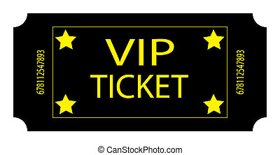 Black VIP Ticket