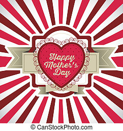 Mothers Day - Illustration of the celebration of Mothers...