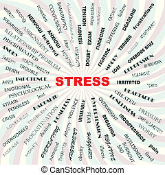 stress concept - stress contributory factors, causes,...