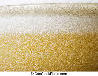啤酒, 泡沫