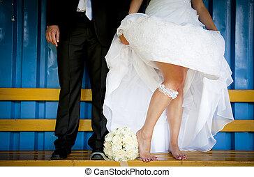 Wedding outdoor portraits