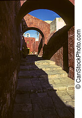 Santa Catalina Monastery alley