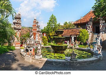 Buddist Monastry on Bali - Brahma Vihara Ashrama Buddist...