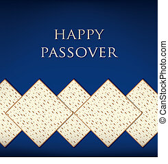Passover! - Happy Passover card in vector format.