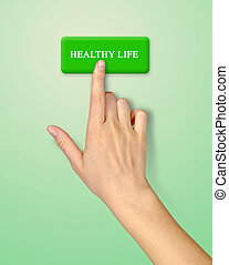 Button for healthy life