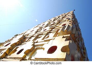 Thai golden Bodh Gaya in Sangkhlaburi, Thailand