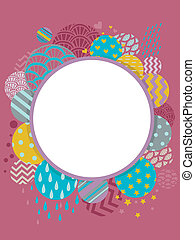 Abstract Frame - Background Illustration of an Abstract...