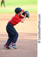 little league baseball player - Little league player about...