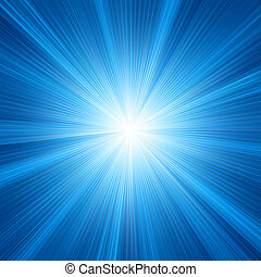 Blue color design with a burst. EPS 8 vector file included