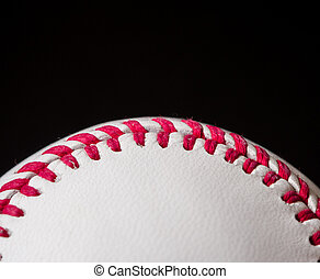 Half baseball background