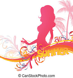 Vector Summer Design
