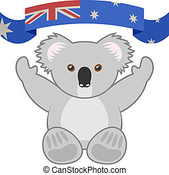 Icon koala - Creative design of icon koala