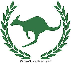 Award kangaroo - Creative design of award kangaroo