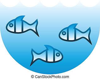 Three fishs