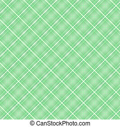 Seamless cross green shading diagonal pattern, vector...
