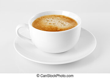 Un, taza, delicioso, espresso, café