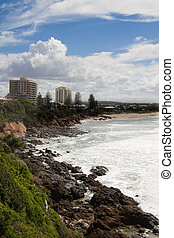 Coolum Beach - Very popular Australian tourist destination....